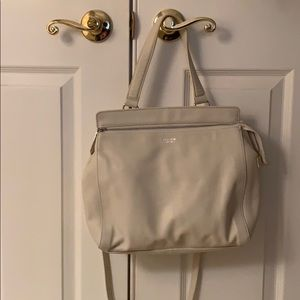 White/cream Perlina NY Handbag